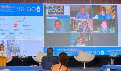 800 asistentes al Congreso Virtual y Semipresencial de la Sección de Ginecología Oncológica de la SEGO
